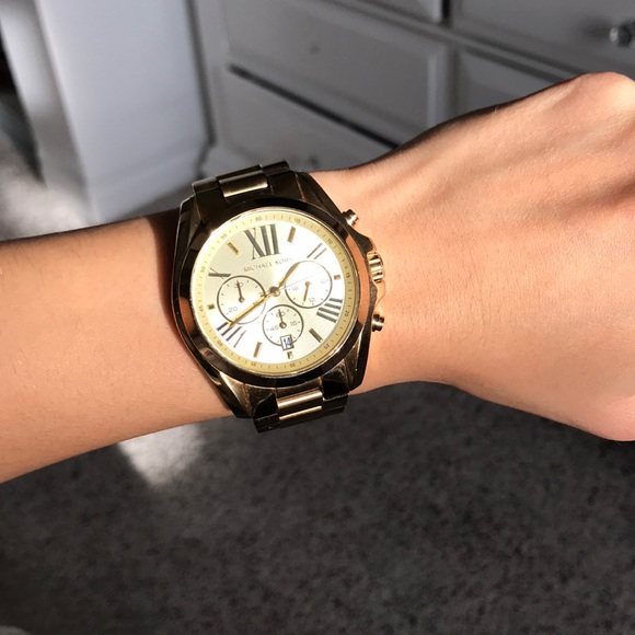bafaf6f7ba71 KORS Michael Kors Accessories - Michael Kors Oversized Bradshaw watch